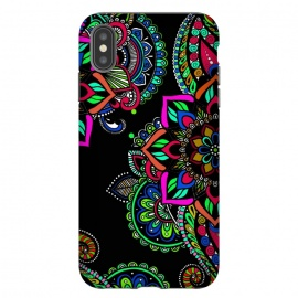 iPhone Xs Max  Mandala jewellery design henna design decorative ornament doodling phonecases by