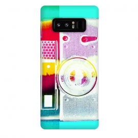 Galaxy Note 8  Colorful vintage photography camera by