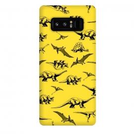 Galaxy Note 8  Dinosaur Pattern by