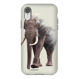 iPhone Xr  Elephantastic by  (other, digital manipulation, double exposure, color, elephant, wild, animal, nature, forest, jungle, 2016, christmas)