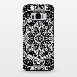Black and White Mandala 011 by Jelena Obradovic