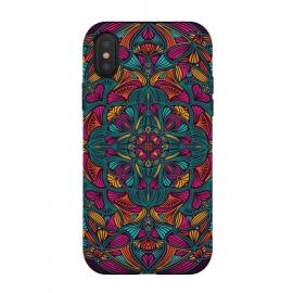 iPhone Xs / X  Colorful Mandala 013 by