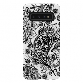 Ink paisley by Laura Grant (paisley,blackandwhite,pattern)