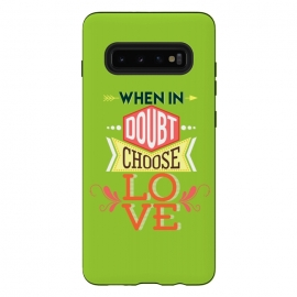 Choose Love by Dhruv Narelia (love,choose love,when in doubt,message,quote,saying,love quote,colorful,multicolor,typographic)