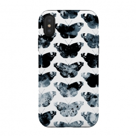 Ink splattered butterfly pattern by Oana