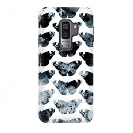 Galaxy S9 plus  Ink splattered butterfly pattern by