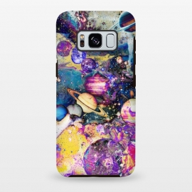 Multicolor psychedelic planets and stars by Oana
