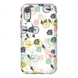 iPhone Xr  Bicycle and Flowers by
