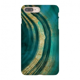 Bohemian Green Marble with Gold Veins by DaDo ART