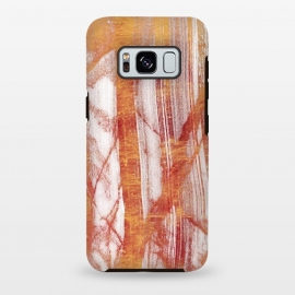 Galaxy S8 plus  Gold marble brushstrokes by