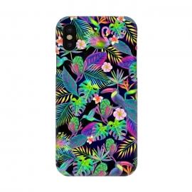 iPhone X  Abundant Neon Paradise by