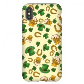iPhone Xs Max  Irish Pattern by