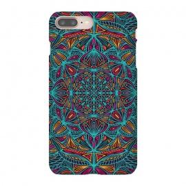 iPhone 8/7 plus  Colorful Mandala Pattern Design 19 by