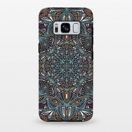 Galaxy S8 plus  Colorful Mandala Pattern Design 21 by