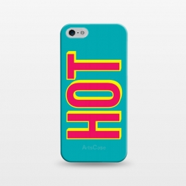 iPhone 5/5E/5s  Hot III by  (hot,sexy,sexy girl,sexy guy,have fun,party all the time,fresh and cool,beach,minimalist,typographic design,text artwork,topmodel,gender,feel free,street)