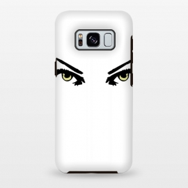 Galaxy S8 plus  Pretty Eyes designer phonecases fashionable vector art look phonecase by