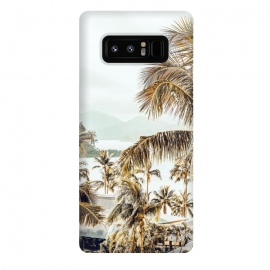 Galaxy Note 8  Island View by  (color, digital manipulation, coconut tree, palms, palm trees, tropical, travel, island, beach, sea, ocean, scenic, botanical, landscape, nature, palm leaves, sky, forest, jungle)