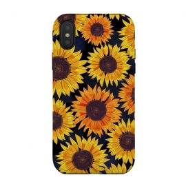 iPhone Xs / X  Sunflowers 2 by  (sunflowers,sunflower,floral,flower,summer)