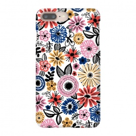iPhone 8/7 plus  Floral by  (Floral,flowers,doodle,pattern)