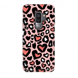 Love leopard by Laura Grant (leopard,animal,love,heart,animalprint)
