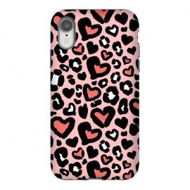 iPhone Xr  Love leopard by  (leopard,animal,love,heart,animalprint)