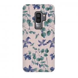 Galaxy S9 plus  Blue Vintage by