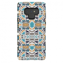 Galaxy Note 9  Colorful geo tribal pattern by