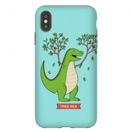 iPhone Xs Max  Tree Rex Blue Version by