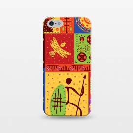 iPhone 5/5E/5s  AFRICAN TRIBAL PATTERN by