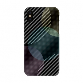 iPhone X  CIRCLE PATTERN WITH LINES by