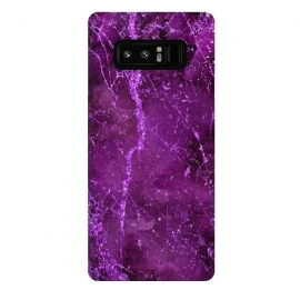 Galaxy Note 8  Magic Marble Purple Pink Glamour by