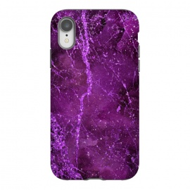iPhone Xr  Magic Marble Purple Pink Glamour by