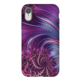 iPhone Xr  Fantastic Pink Fractal Swirls by