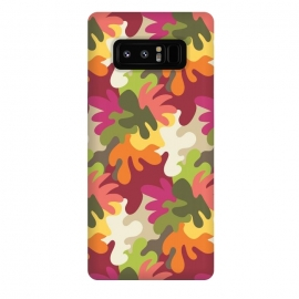 Galaxy Note 8  Spring Camouflage by