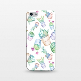 iPhone 5/5E/5s  Cactus Pattern Watercolor by