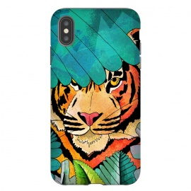 iPhone Xs Max  Jungle tiger hunter by