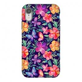 iPhone Xr  Summer Blooms & Butterflies by