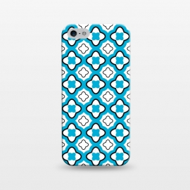 iPhone 5/5E/5s  Morocco Tiles by  (morocco,tiles,flowers,floral,modern,vintage,retro,pattern,blue,feminine,for her,for bff,graphic)
