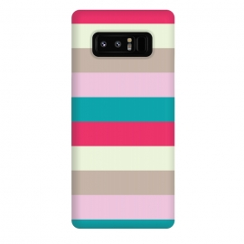 Galaxy Note 8  Bold feminine stripes by  (geometric,abstract,pattern,modern,feminine,stripes,colorful,bold,bright,for her,elegant,stylish,for bff)