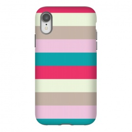 iPhone Xr  Bold feminine stripes by  (geometric,abstract,pattern,modern,feminine,stripes,colorful,bold,bright,for her,elegant,stylish,for bff)