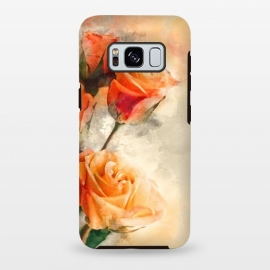 Galaxy S8 plus  Orange Rose by