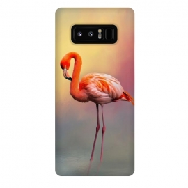 Galaxy Note 8  American flamingo by