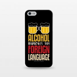 iPhone 5/5E/5s  alcohol foreign language by