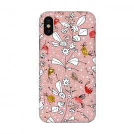 iPhone X  Bye Bye Birdie - Dusty Rose by