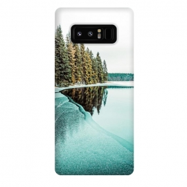 Galaxy Note 8  By The Lake by  (hdr, digital manipulation, nature, landscape, forest, pine trees, lake, travel, adventure, camping, jungle, wildlife, reflection, sky, modern)