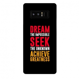 Galaxy Note 8  dream the impossible  by