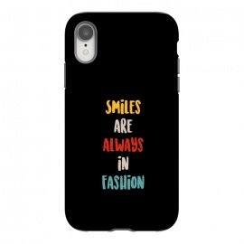iPhone Xr  smiles always fashion by