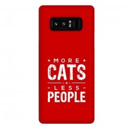 Galaxy Note 8  more cats less people by