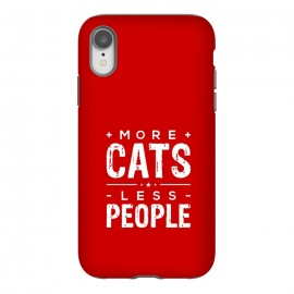 iPhone Xr  more cats less people by