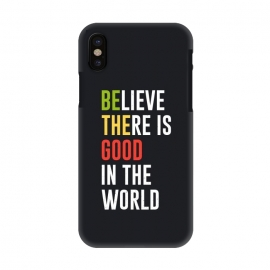 iPhone X  believe the good by